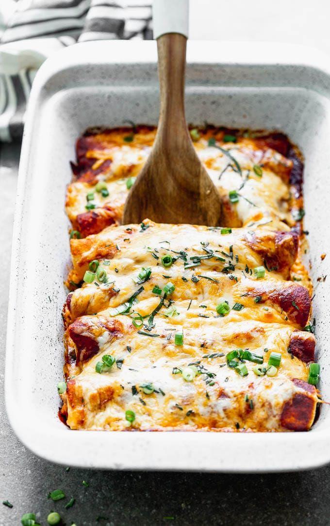 Best Chicken Enchilada Recipe Recipe Best Chicken Enchilada Recipe Enchilada Recipes Chicken Enchiladas