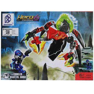 LEGO Brick Seri Hero Factory 6 Star Soldier - Tunneler Beast vs Surge :  - Paket termasuk 1 minifigure LEGO : Surge - Dilengkapi Buku Panduan Perakitan yang detail dan mudah di mengerti - Produk bisa dikombinasikan dengan Produk Seri Hero 6 Star Soldier lainnya - Bahan High Quality ( Rapi dan Halus ) - Merek Bertoyindo - Merupakan mainan edukasi untuk meningkatkan daya kreativitas dan imajinasi - Untuk Model lain silahkan cek produk dan harganya di lapak kami…