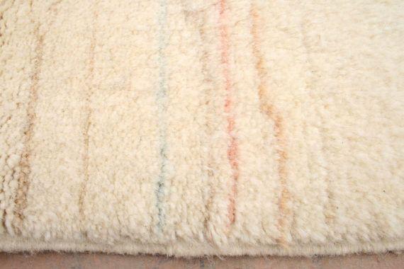Moderner Teppich Weiß Beige Pastell Farben, Designer Teppich, Natürlicher Wollteppich, Berber Teppich, Pflanzlich Gefärbte Lammwolle