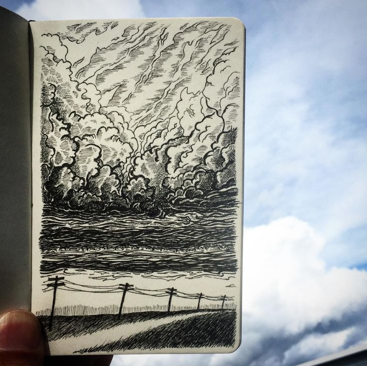 This sketchbook explores yin and yang, black and white, good and bad, day and night...
