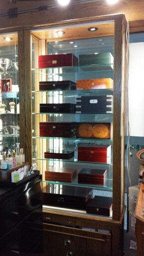 Sleuth & Statesman humidors for sale.