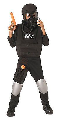 Boys 80913: Child Large Special Forces Kids Costume - Police Costumes -> BUY IT NOW ONLY: $34.67 on eBay!