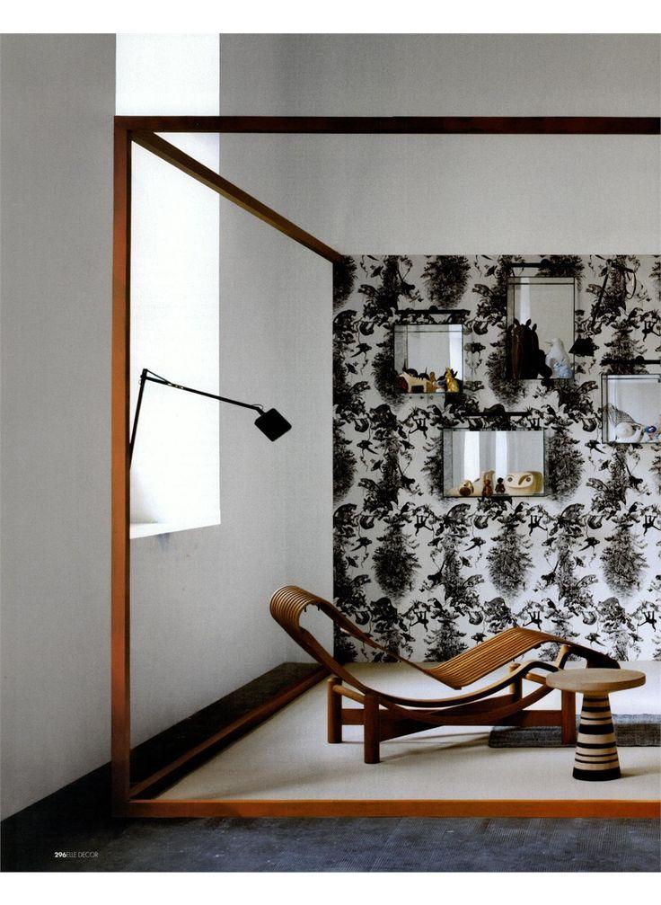 ELLE DECOR - TOKYO OUTDOOR, design Charlotte Perriand