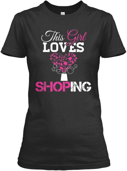 This Girl Loves Shoping