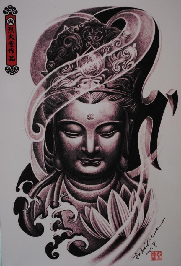 Nice Buddha Tattoo Design - http://tattooideastrend.com/nice-buddha-tattoo-design/ - #Buddha, #Design, #Tattoo