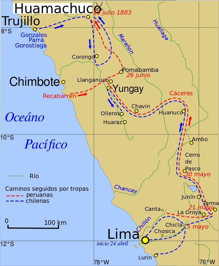 Campaign.of.La.Sierra.1883.es - Guerra del Pacífico - Wikipedia, la enciclopedia libre