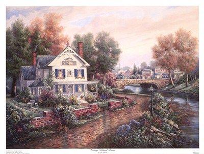 Carl Valente Original Paintings Vintage Island Home More