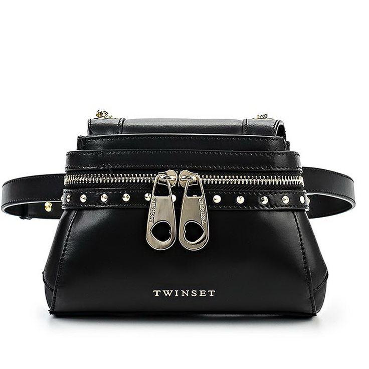 Модные сумки весны 2017. Сумка-напоясник Twin-Set Simona Barbieri