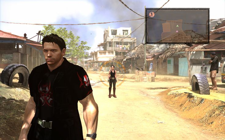 Umbrella Characters Pack / Screen 002 / Mods for Resident Evil 5(RE5) / Characters - Chris BSAA and Sheva BSAA