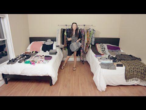 Как упаковать более 100 вещей в ручную кладь? Смотрите, как она это делает! »