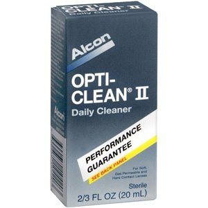 #vision #OPTI-CLEAN II #SENSITIVE EYES 20ML ALCON LABORATORIES INC