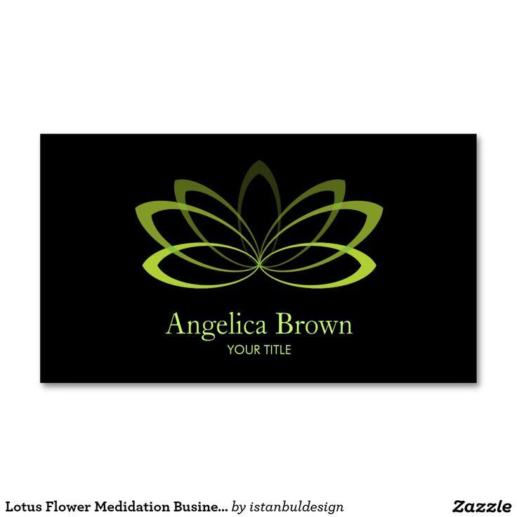117 best Meditation Business Cards images on Pinterest | Business ...