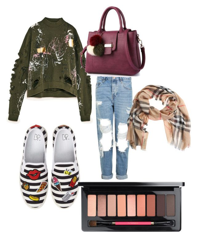 Jas by confusedtacos45 on Polyvore featuring polyvore, Topshop, BP., Burberry, fashion, style and clothing