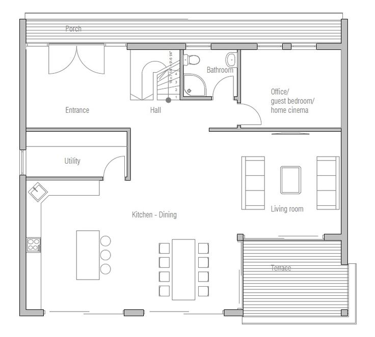 91 best Home Floorplans images on Pinterest Architecture House