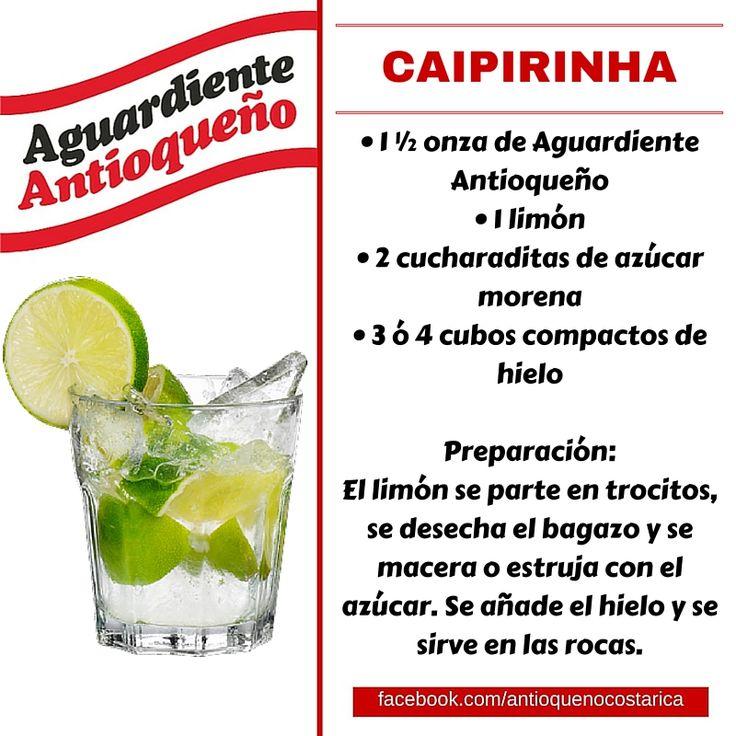 ¡Aguardiente Antioqueño combina con todo! #Aguardiente #Antioqueño #Coctel #Cocktail #Caipirinha