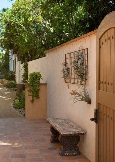 Perfect Tillandsia   Air Plants   Garden Art Wall   Wood Gate   Side Yard    Victorian. Terracotta ...