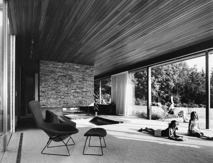 Rang house, Living Room, Königstein im Taunus / Germany, 1961