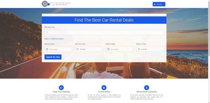 Driveyouaway Rent A car Portal