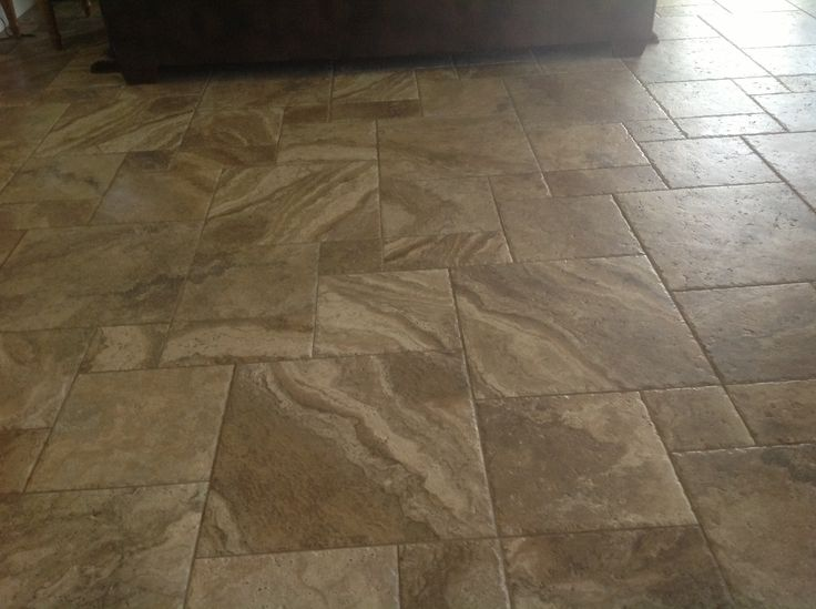 My New Floor Chaco Canyon Tile Love It Never Shows