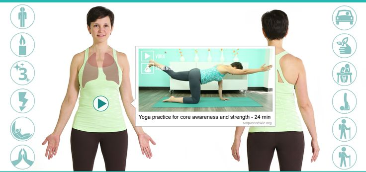 This home yoga practice for the hips will help you release tension in the inner thighs (adductors) and strengthen your outer hips (abductors).