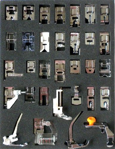 Bernina Bernette 32 piece Presser Foot Set | Bernina Bernette Presser Feet & Accessories