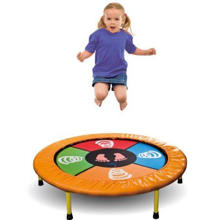 Dimple Mini Dancing Trampoline for Kids; Touch Sensitive Playmat w/ Bluetooth Technology; Bounce Jump and Dance to Music