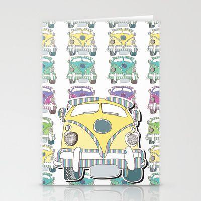 Krazy Kombie Stationery Cards by Sketchbook Designs - $12.00