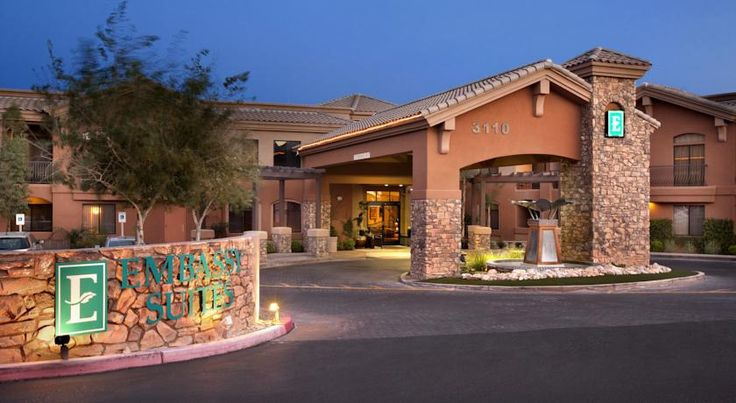 Embassy Suites Tucson - Paloma Village Tucson Situated in the foothills of the Santa Catalina Mountains, this all-suite hotel overlooks the Tucson, Arizona skyline, and features spacious 2-room suites filled with a variety of amenities.
