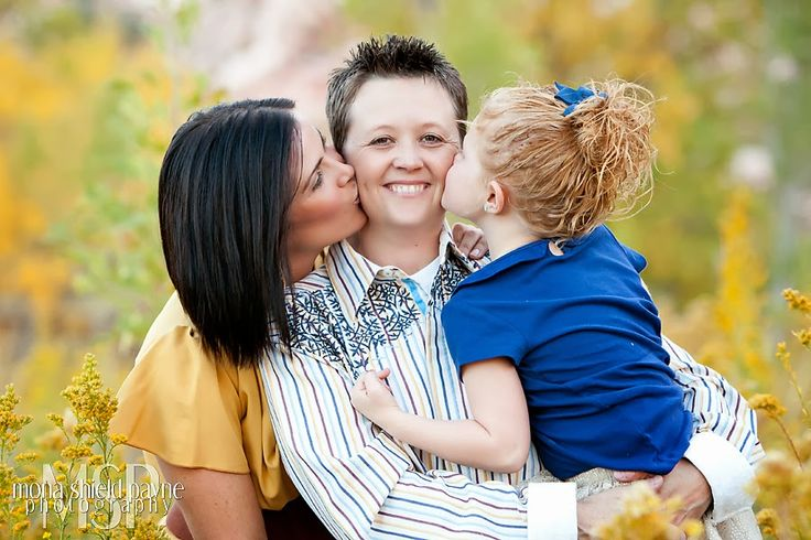 Family Portrait, holiday card idea, lesbian love  #red rock mountian #calico basin #Las Vegas photographer | photo by Mona Shield Payne