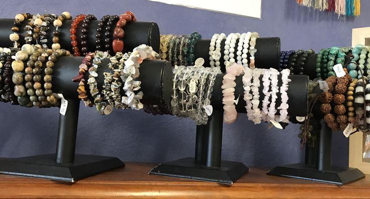 Gemstone Bracelets available now at www.awakencrystals.com