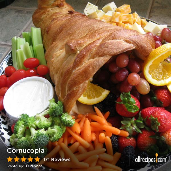 "Cornucopia | ""This was so cool and the talk of my first Thanksgiving as a hostess! I loved it and will do it again next year!"""