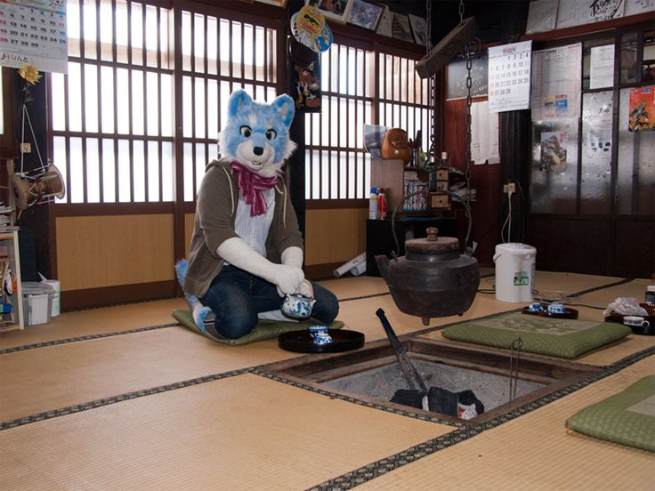 Traditional Japanese Living Room   By Kurisuke