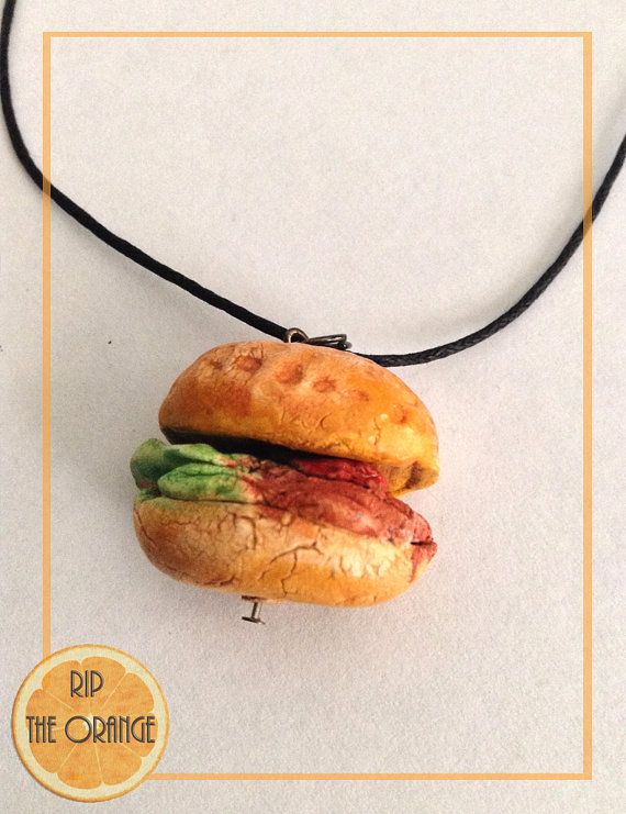 Burguer Spin Necklace