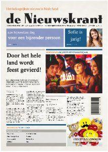 Tijdschrift cover kaarten | KaartWereld.nl