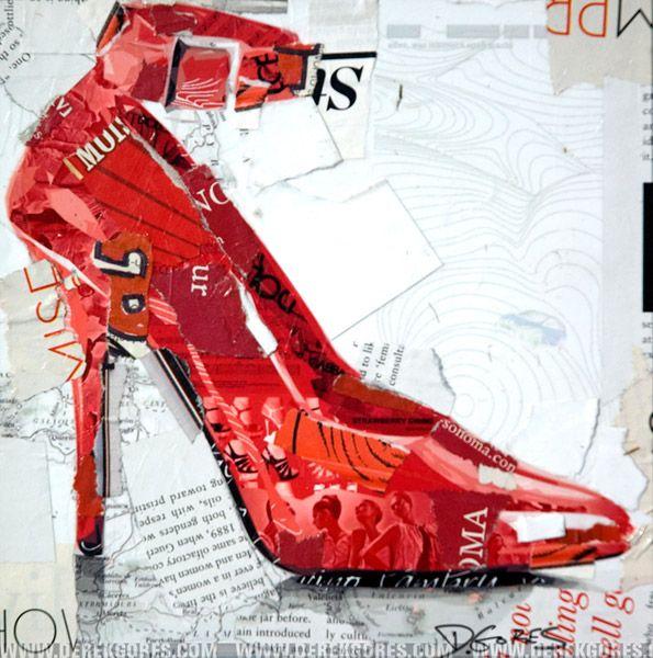 Derek Gores: Original Artwork - Collage