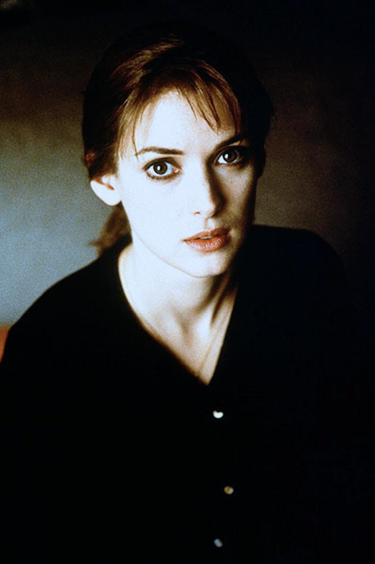 """Winona Ryder in a promotional photo for ""Lost Souls"" (2000) """