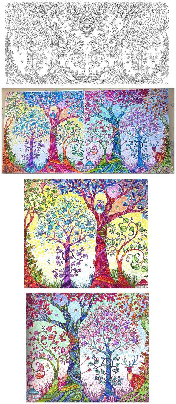 Zendoodle coloring enchanting gardens - My Beloved Coloring Book Ink Artist Johanna Basford Publication The Old Lion Publishing House Vydavnytstvo Staroho Leva Lviv Ukraine St Enchanted