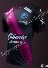 2016-17 Club Puebla Black and Pink Thailand Soccer Jersey