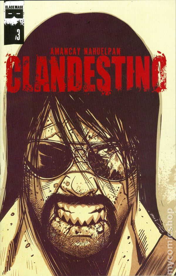 Clandestino (2015 Black Mask) 3