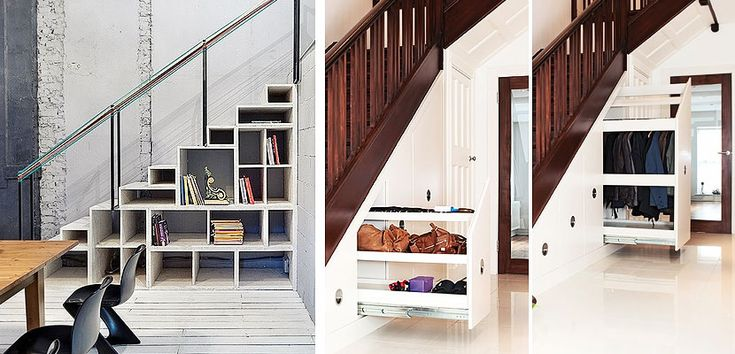M s de 25 ideas incre bles sobre escaleras para espacios for Soluciones bajo escalera