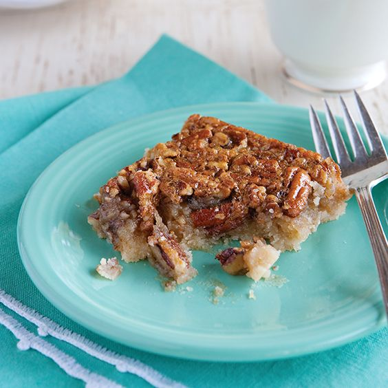 Paula calls these her best-ever pecan pie bars.