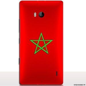 Coque nokia 930 Maroc - Coque drapeau Marocain - Achat coque Lumia 9,95€. #coque #nokia #lumia #930 #drapeau #maroc