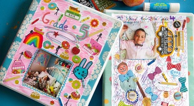 Get ready for back-to-school with customized school year memory books.