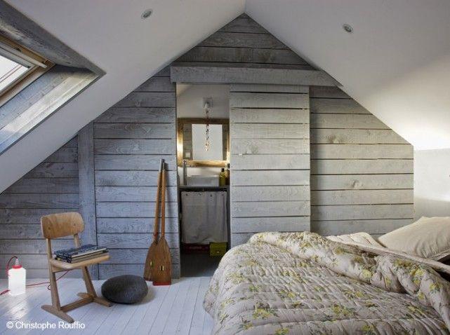 Combles amenages chambre cosy