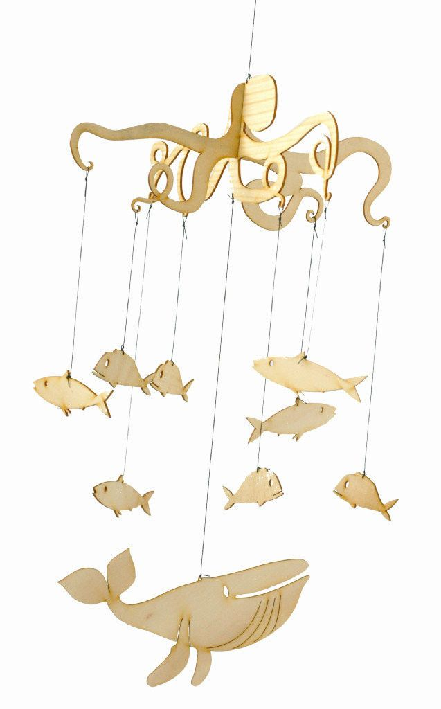 Fishy #Mobile #baby #nursery