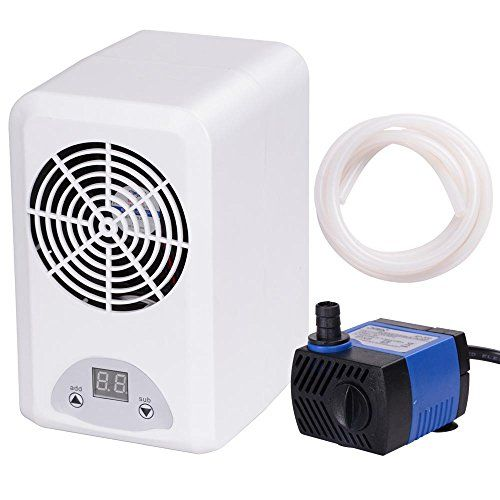 Aquarium Thermostat Chiller Heater Adjustable Fish Tank Salt/Fresh Water W/ 3W Pump - http://www.petsupplyliquidators.com/aquarium-thermostat-chiller-heater-adjustable-fish-tank-saltfresh-water-w-3w-pump/