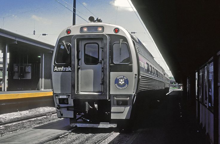 Connecticut dotamtrak spv2000 at new haven union station