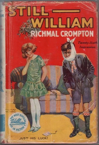 Still - William, by Richmal Crompton, illustrated by Thomas Henry.  (Image: stuck-in-a-book.blogspot.com)