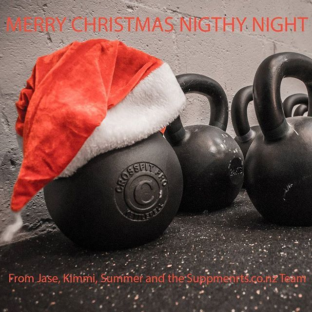 Nighty Night!  Merry Christmas from Jase, Kimmi, Summer and the rest of the Supplements.co.nz Team, we hope you had a great day!  #xmasrocks #livebetter#xmaslove #liftstrong #presents #fitspo