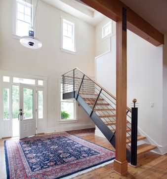 New Home   Colonial Exterior, Contemporary Interior   Contemporary    Staircase   Kansas City
